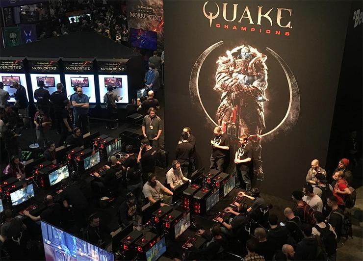 подробности Quake Champions